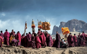 Christopher Roche_Turning of the Buddha, Tibet