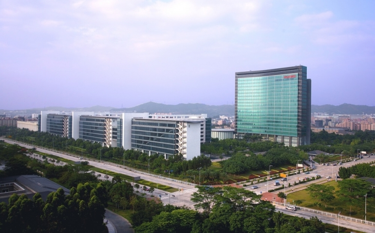 View-of-Huawei-Headquarters
