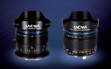 Laowa 11 mm f/4,5 FF RL a 14 mm f/4 FF RL Zero-D