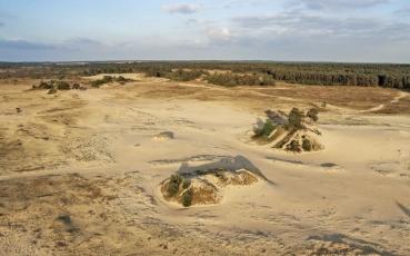 Fotolokace – Kootwijkerzand – Sahara v Nizozemí